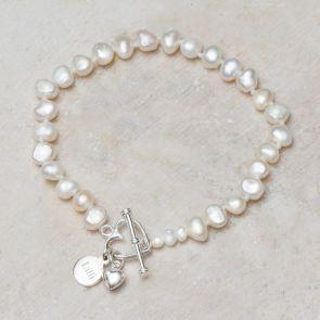 Alya Personalised Bracelet Ivory
