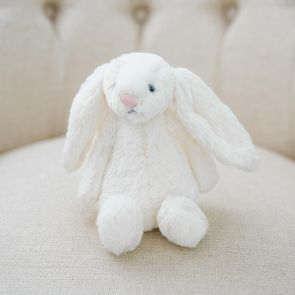 jellycat cream bashful bunny