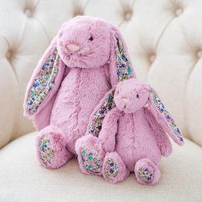 jellycat pink tulip blossom bunny