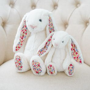 cream blossom bunny by jellycat