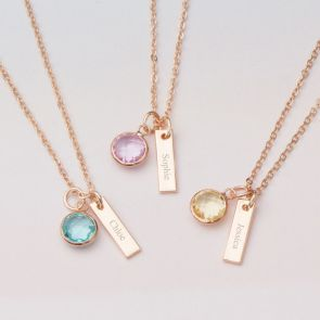Daniella Bar Personalised Necklace