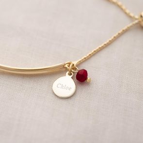 Edie Personalised Slider Bangle