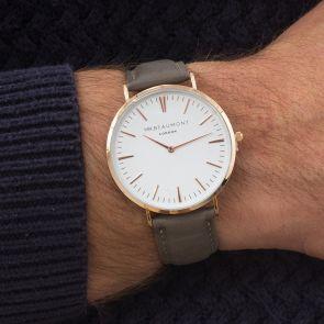 Personalised Silva Metallic Men's Watch