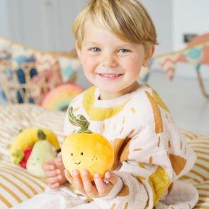jellycat orange toy