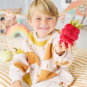 jellycat raspberry toy