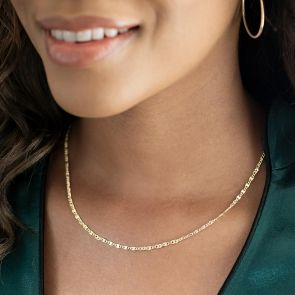 gold plated sterling silver neclace chain