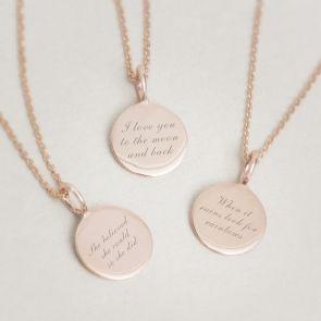 lara personalised necklace