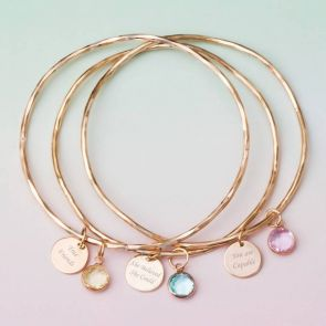 She Believed She Could Personalised Bangle