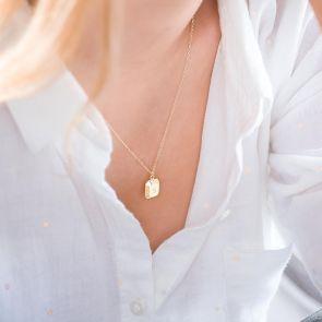 Personalised Ingot Necklace