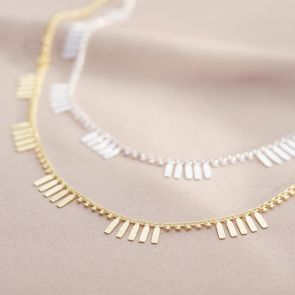 Ria Tag Statement Necklace