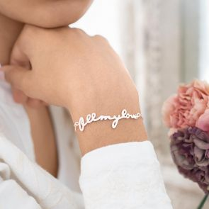 All My Love Personalised Bracelet