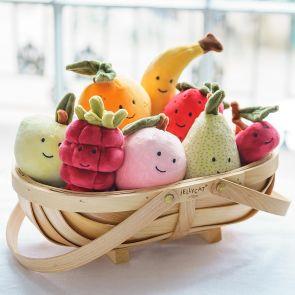 Jellycat Apple Fabulous Fruit
