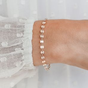 Personalised Sequin Bridesmaid Bracelet