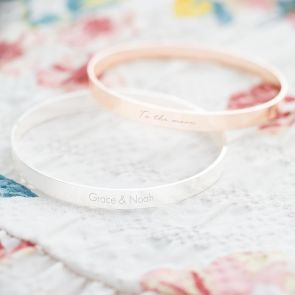 Floressa Personalised Message Bangle
