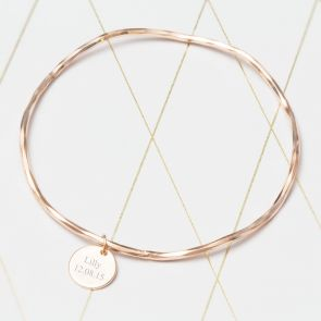 Create Your Own Amelie Personalised Charm Bangle