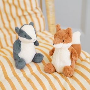 Jellycat Pipsy Badger and Fox