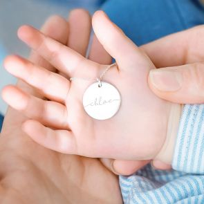 Large Esme Personalised Name Necklace