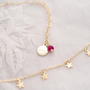 Multi Star Personalised Necklace