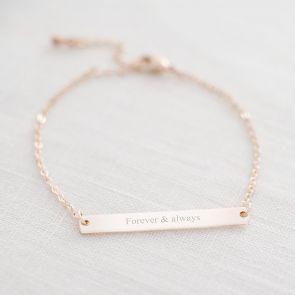 Perri Bar Personalised Bracelet