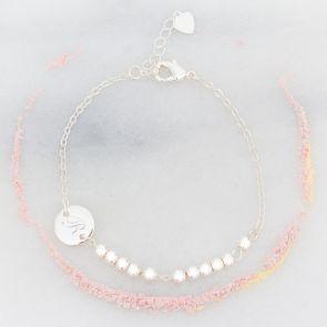 Sammi Disc Personalised Friendship Bracelet