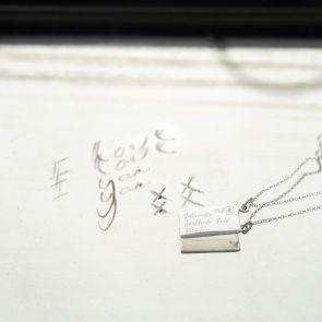 Secret Santa Letter Pendant Personalised Necklace