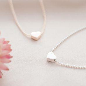Tertia Heart Personalised Charm Bracelet