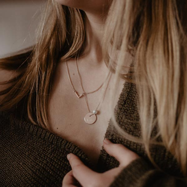 Falling for you, personalised jewellery to fall in love with this season